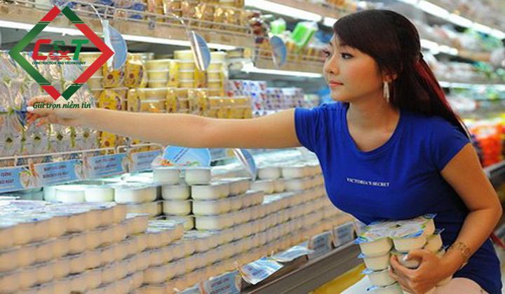 lắp đặt kho lạnh bảo quản sữa chua trên toàn quốc